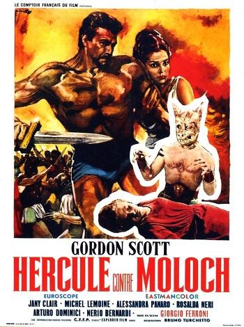 Hércules contra Moloch-póster
