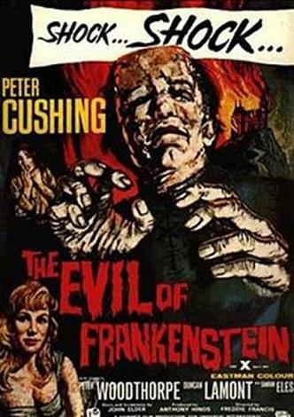 The Evil of Frankenstein-póster1