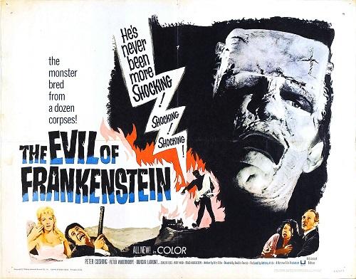 The Evil of Frankenstein-póster2