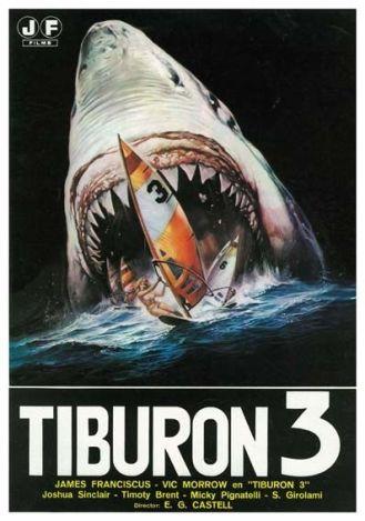 Tiburón 3-póster