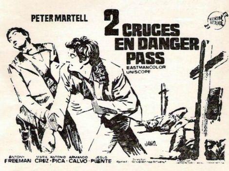 Dos cruces en Danger Pass-poster2