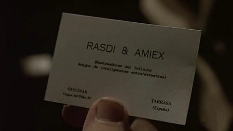 Platillos volantes - Tarjeta Rasdi & Amiex